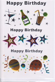 Birthday Card 1752