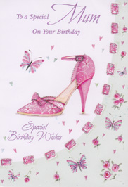 Birthday Card 1834