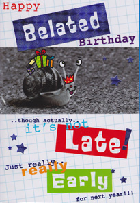 Birthday Card 3160
