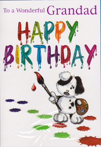 Birthday Card 3165