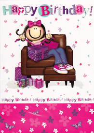 Birthday Card 3233