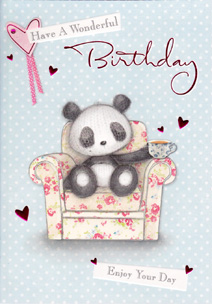 Birthday Card 3285