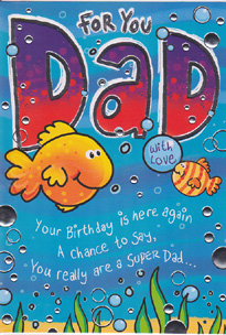 Birthday Card 3401