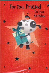 Birthday Card 3407