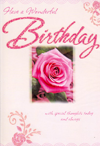 Birthday Card 3460