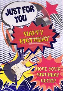 Birthday Card 3464