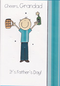 fathers day grandad card 2125