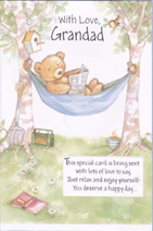 fathers day grandad card 2139