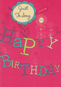 birthday card 3032